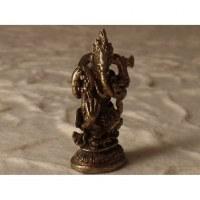 Dieu Ganesh et le serpent gris