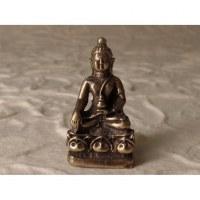 Miniature grise Bouddha Bhaishavaguru