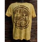 Tee shirt jaune natural inspiration