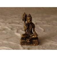 Miniature Shiva doré paume ouverte