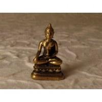 Miniature dorée Bouddha Bhaishavaguru