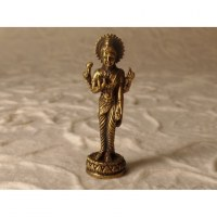 Miniature dorée Bouddha debout