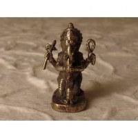 Ganesh à genoux gris