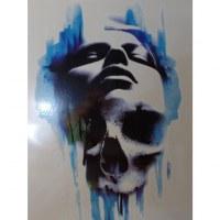 Tatouage tête de mort/visage