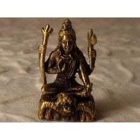 Miniature Shiva doré