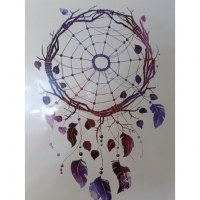 Tatouage dreamcatcher color