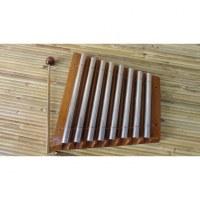 Xylophone bois et métal 8 barres