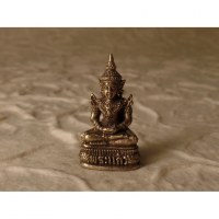 Miniature grise beautiful Bouddha