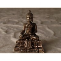 Miniature Bouddha bhumisparsa mudra