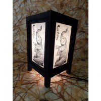 Lampe éléphanteau Chang