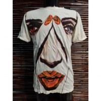 Tee shirt blanc le visage