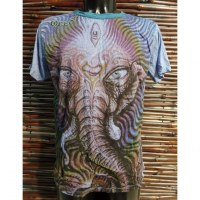Tee shirt bleu beautiful Ganesh