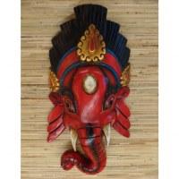 Masque rouge Ganesh