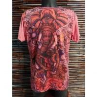 Tee shirt Ganesh et le lion