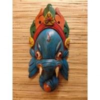 Masque Ganesh bleu