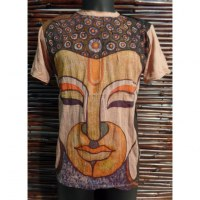 Tee shirt beige Bouddha