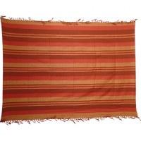 Tenture couverture Kérala orange