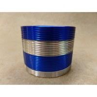 Grinder gris bandeau bleu