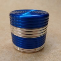 Grinder métal bandes bleues