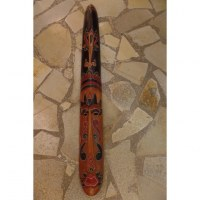 Masque 3 bois tribal