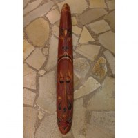 Masque 4 bois tribal