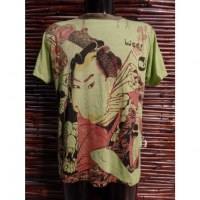 Tee shirt vert samouraï