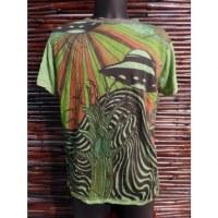 Tee shirt vert les soucoupes volantes