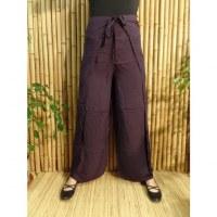 Pantalon paréo cobalt