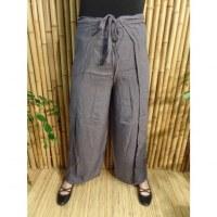 Pantalon paréo gris acier