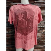 Tee shirt coquelicot Bouddha natural inspiration