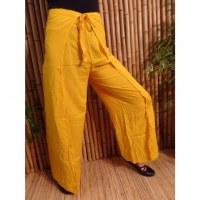 Pantalon paréo jaune soleil