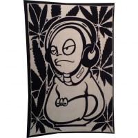 Tenture noire/blanc DJ