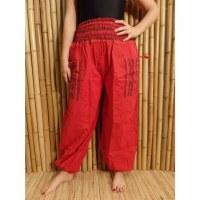 Pantalon Loumbini rouge