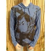 T shirt le samouraï bleu foncé