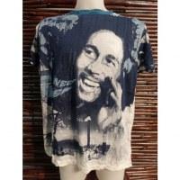 Tee shirt blanc Bob Marley