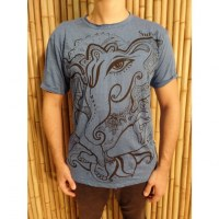 Tee shirt bleu little Ganesha