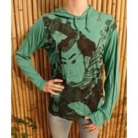 T shirt le samouraï vert