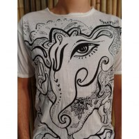 Tee shirt blanc little Ganesha