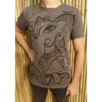 Tee shirt marron little Ganesha