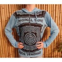 T shirt bleu clair mandala