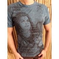 Tee shirt Shiva bleu pétrole