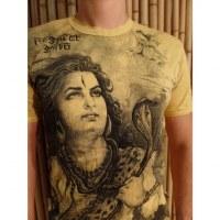 Tee shirt Shiva jaune