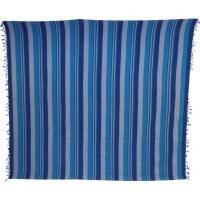 Tenture maxi Kérala bleu foncé