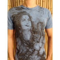 Tee shirt Shiva bleu