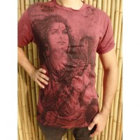 Tee shirt Shiva bordeaux