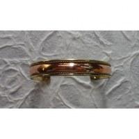 Bracelet magnétique bicolore