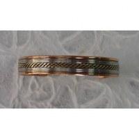 Bracelet magnétique natte