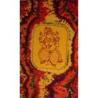 Tenture multicolore Ganesh