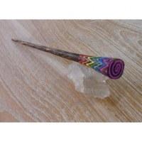 Baguette cheveux rainbow color
