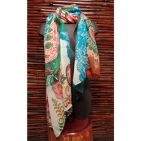 Foulard rectangle Anne